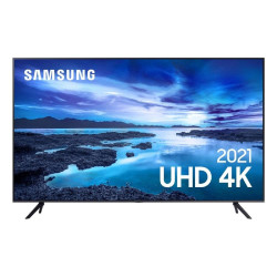 "Smart TV 50"" Crystal 4K Samsung UN50AU7700GXZD Wi-Fi - Bluetooth HDR Alexa Built in 3 HDMI 1 USB"