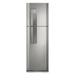 Geladeira Top Freezer Duplex Electrolux 402 Litros Frost Free Inox DF44S - 110V