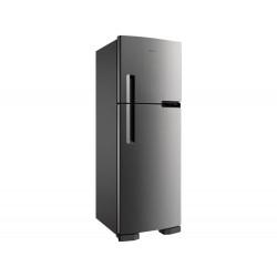 Refrigerador Brastemp BRM44HK Frost Free com Gavetão de Legumes Fresh Zone Inox - 375L 127V